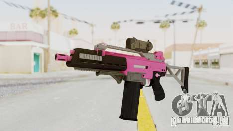 Special Carbine Pink Tint для GTA San Andreas