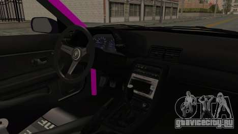 Nissan Skyline R32 Drift Monster Energy Falken для GTA San Andreas вид изнутри