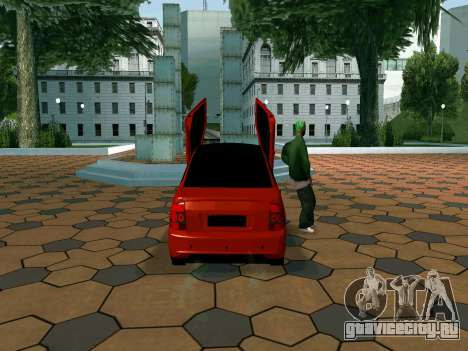 Lada Priora Lambo для GTA San Andreas вид справа