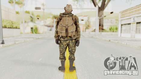 COD Black Ops Russian Spetznaz v6 для GTA San Andreas третий скриншот