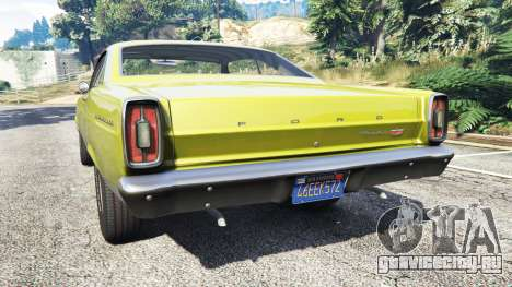 Ford Fairlane 500 1966 v1.1 для GTA 5