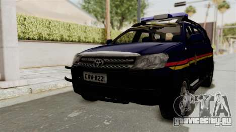 Toyota Fortuner JPJ Dark Blue для GTA San Andreas