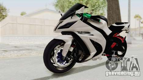 Kawasaki Ninja ZX-10R Modification для GTA San Andreas вид справа