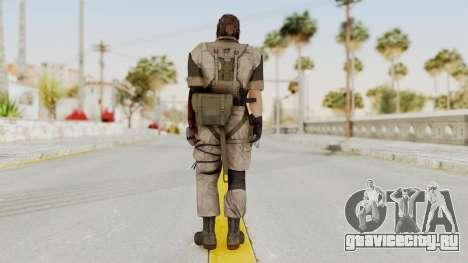 MGSV The Phantom Pain Venom Snake Desert для GTA San Andreas третий скриншот