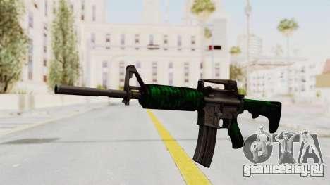HD M4 v4 для GTA San Andreas второй скриншот