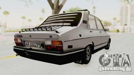 Dacia 1310 TX 1986 для GTA San Andreas вид сзади слева