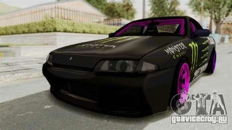 Nissan Skyline R32 Drift Monster Energy Falken для GTA San Andreas