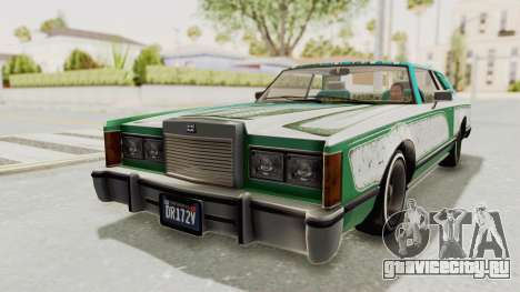 GTA 5 Dundreary Virgo Classic Custom v1 для GTA San Andreas колёса