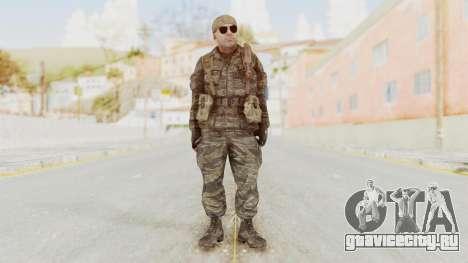 COD BO SOG Hudson v2 для GTA San Andreas второй скриншот