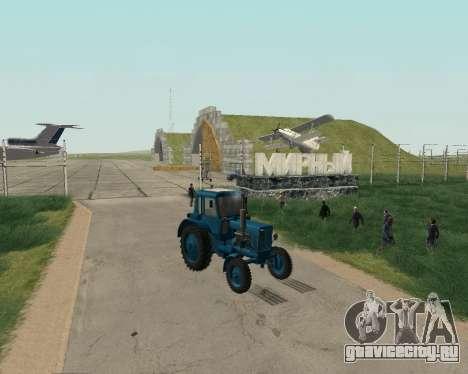 МТЗ-80 Беларус для GTA San Andreas вид справа