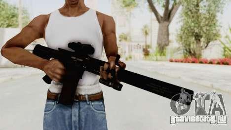 Colt M4 CQB S.W.A.T. для GTA San Andreas третий скриншот