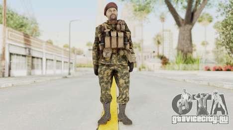 COD Black Ops Russian Spetznaz v7 для GTA San Andreas второй скриншот