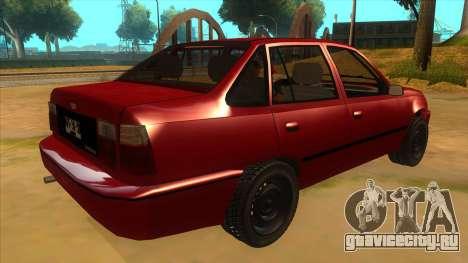 Daewoo Racer GTI для GTA San Andreas вид справа