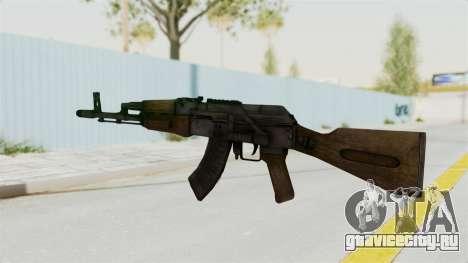 АК-47 для GTA San Andreas второй скриншот