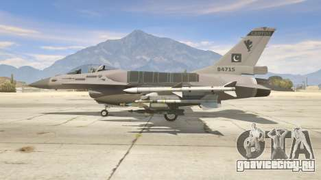 F-16C Block 52 для GTA 5 второй скриншот