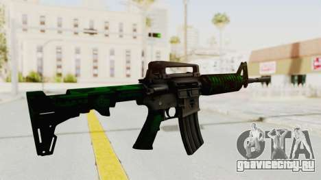 HD M4 v4 для GTA San Andreas третий скриншот