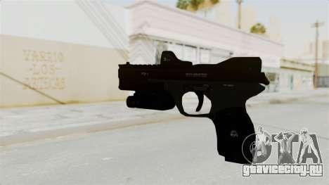 Killzone - M4 Semi-Automatic Pistol для GTA San Andreas второй скриншот