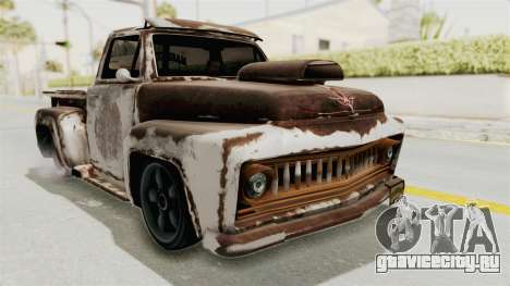 GTA 5 Slamvan Lowrider PJ2 для GTA San Andreas вид сбоку