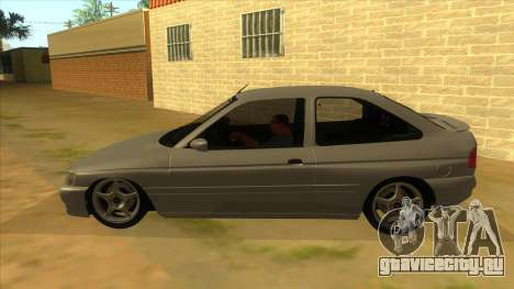 Ford Escort V2 для GTA San Andreas вид слева