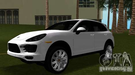 Porsche Cayenne 2012 для GTA Vice City вид изнутри