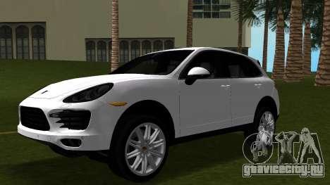 Porsche Cayenne 2012 для GTA Vice City вид изнутри