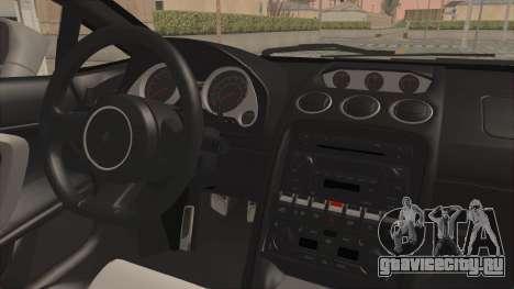 Lamborghini Gallardo 2005 Monster Truck для GTA San Andreas вид сзади