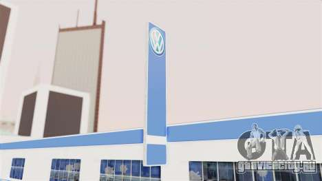 Volkswagen Showroom in San Fierro для GTA San Andreas третий скриншот