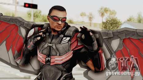 Captain America Civil War - Falcon для GTA San Andreas
