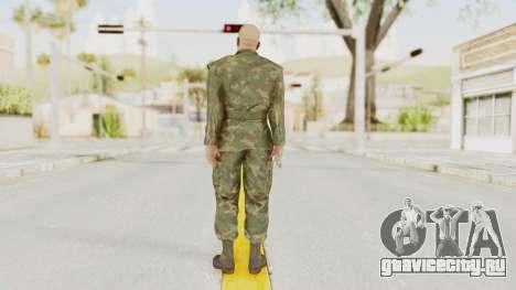 MGSV Ground Zeroes US Soldier No Gear v2 для GTA San Andreas третий скриншот