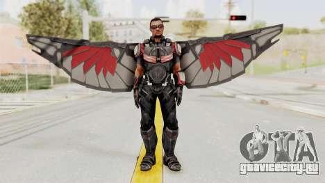 Captain America Civil War - Falcon для GTA San Andreas второй скриншот