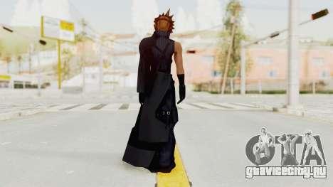 Kingdom Hearts 2 - Cloud Strife для GTA San Andreas третий скриншот