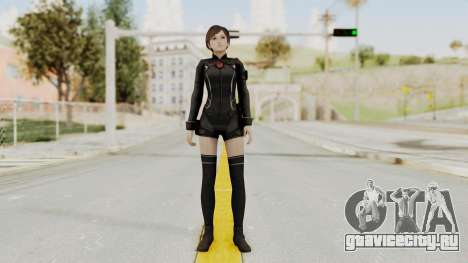 Resident Evil 0 HD Rebecca Chambers Wesker Mode для GTA San Andreas второй скриншот