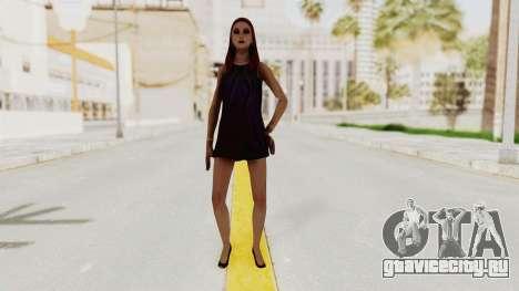 Sasha v2 для GTA San Andreas второй скриншот