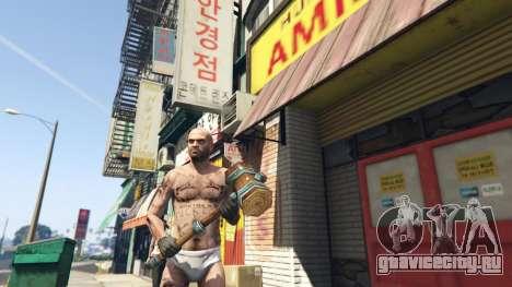 Wooden Fantasy Hammer для GTA 5
