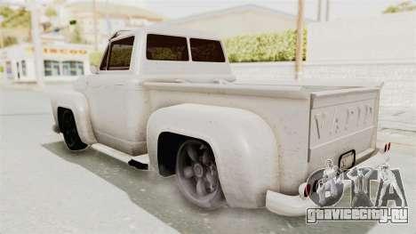 GTA 5 Slamvan Lowrider для GTA San Andreas вид слева