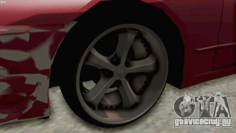 Nissan Skyline NAR32 для GTA San Andreas вид сзади