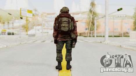 Battery Online Russian Soldier 9 v1 для GTA San Andreas третий скриншот