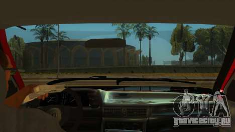 Daewoo Racer GTI для GTA San Andreas вид изнутри