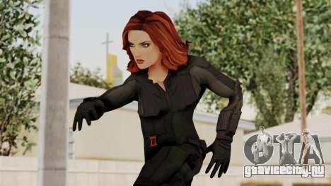 Captain America Civil War - Black Widow для GTA San Andreas