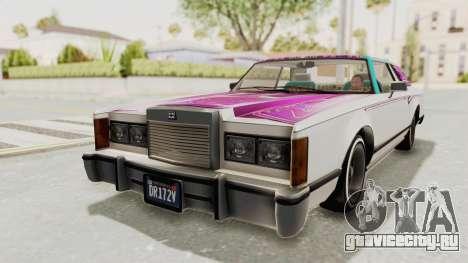 GTA 5 Dundreary Virgo Classic Custom v1 для GTA San Andreas салон