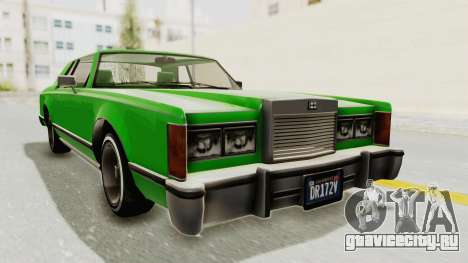 GTA 5 Dundreary Virgo Classic Custom v1 для GTA San Andreas