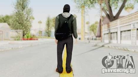 Battlefield 3 Bandit для GTA San Andreas третий скриншот