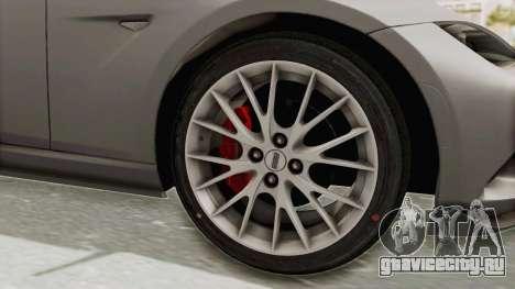 Mazda MX-5 Cup 2015 v2.0 для GTA San Andreas вид сзади