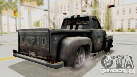 GTA 5 Slamvan Lowrider PJ2 для GTA San Andreas вид слева