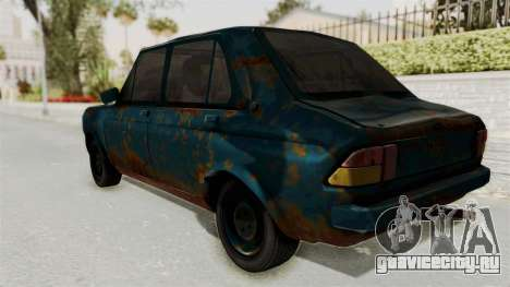 Zastava 1100 Rusty для GTA San Andreas вид слева