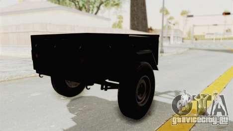 ГАЗ-704 Прицеп для GTA San Andreas вид слева