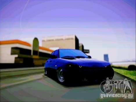 ВАЗ 2110 Злюка для GTA San Andreas вид сзади слева
