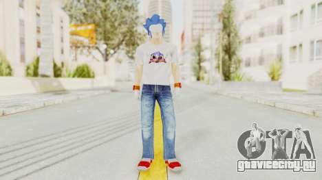 Sonic Man для GTA San Andreas второй скриншот