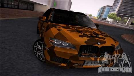 BMW X5M ( Davidich ) для GTA San Andreas вид слева