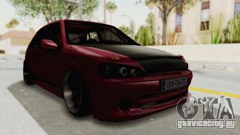 Peugeot 106 V2 RWD Greek Style для GTA San Andreas